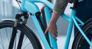 batterie d'un vélo électrique