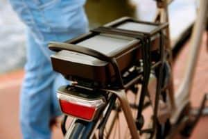 batterie du vélo électrique
