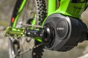 moteur bosch d'un vélo électrique