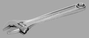 clé à molette standard