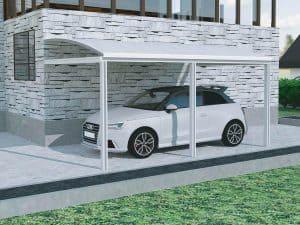 abri de voiture moderne
