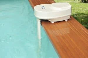 alarme de piscine dans une piscine
