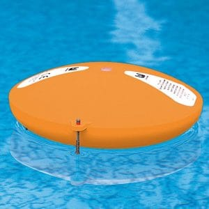 alarme de piscine orange