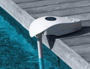 alarme de piscine compacte