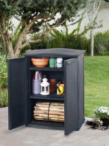 armoire de jardin compacte