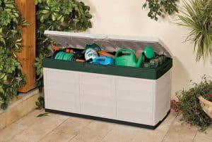 boîte de rangementextérieur pour jardinage