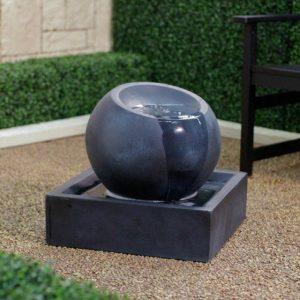 fontaine de jardin ronde