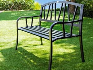 banc de jardin simple