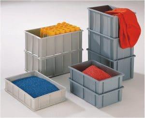 boîtes de rangement superposable