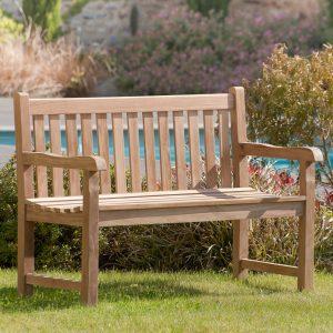 banc de jardin simple en bois