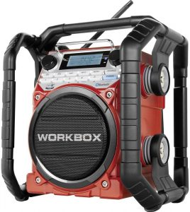 radio de chantierrouge