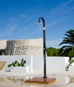 douche solaire simple