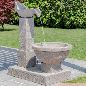 fontaine de jardin deux pieces