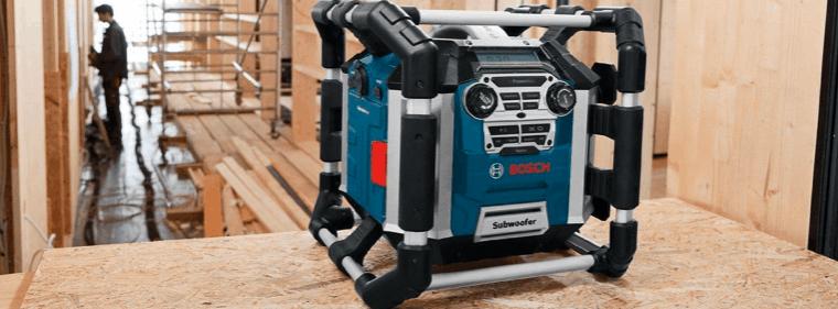 radio de chantierbosch
