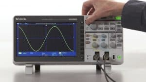 oscilloscope grand écran
