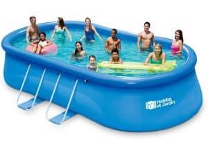 piscine autoportée grande capacite