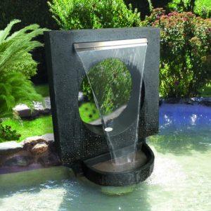 fontaine de jardin très moderne