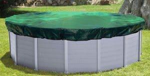 bâche d'hiver pour piscine ronde