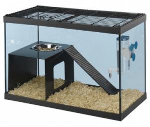 cage de rat en plexiglas