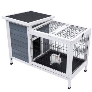 cage de lapin d'extérieur