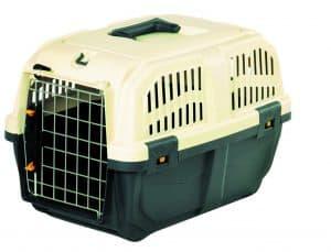 caisse de transport pour chat en plastique